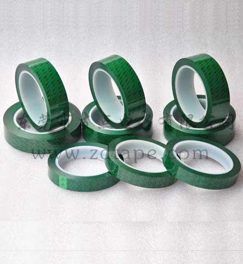 绿色数字终止胶带